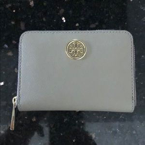 Tory Burch mini wallet Robinson zip